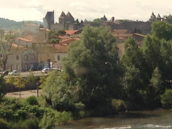View from TGV window