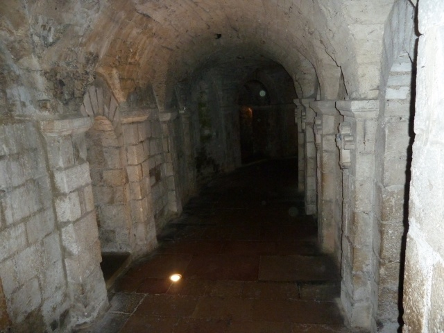 In the crypt!
