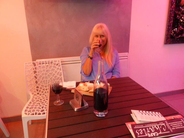Un aperitif pour moi.