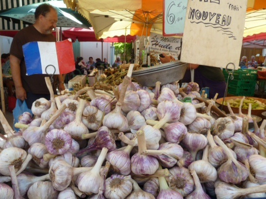You can't get more French than garlic!