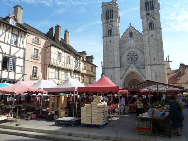 Chalon-sur-Saone market.