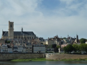 Nevers, view from the bridge.