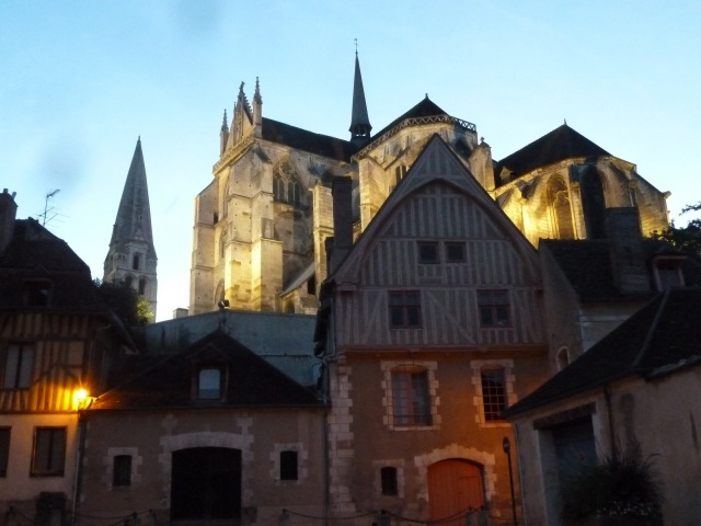Abbey Saint Germain d'Auxerre