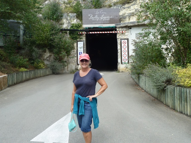 In front of Cave entrance