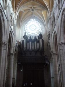 Cavaillé-Coll organ in St-Martin collegial eglise.