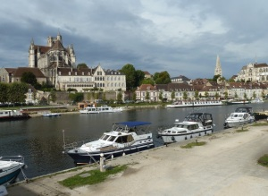 Our winter base Auxerre.