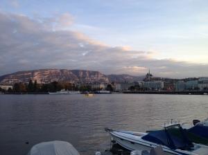 Lake Leman or Lake Geneva