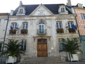 This is the Town Hall or Hotel de Ville built 1733.