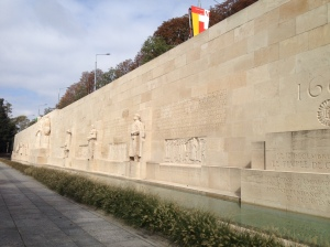 Reformation Wall featuring John Calvin, Theodore Beza, John Knox and William Farel.