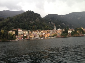 Menaggio, on the opposite side of Lake Como to Bellagio.