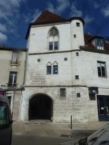 Hotel du Cerf-Volant is the oldest civil building made of stone in Auxerre, built XIVth century
