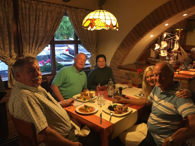 Eva Air pilot reunion dinner