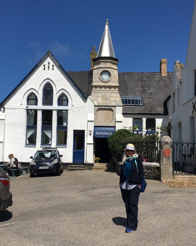 Port Issac, old school house used in Doc Martin