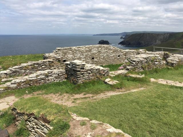 Schist ruins