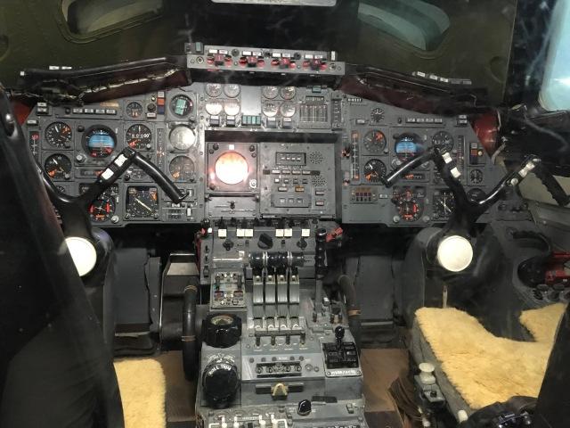Concorde flight deck