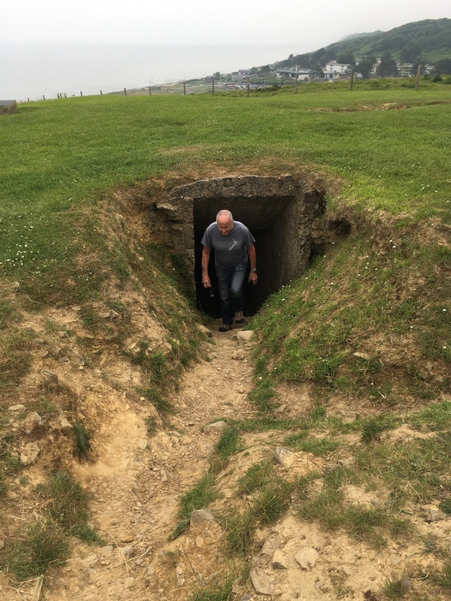Bunker at Omaha Beach