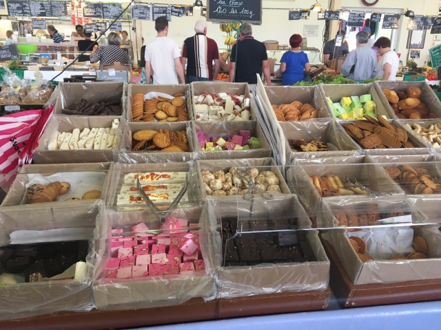 Nougat and other confectionery with Middle Eastern influences.