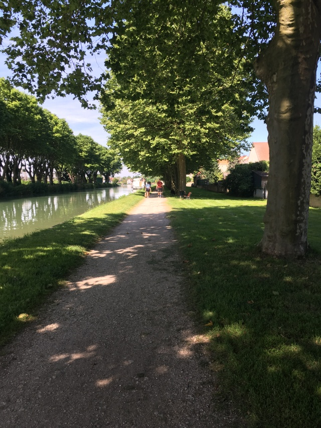 Migennes tow path.
