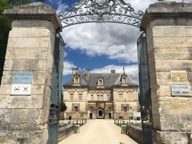 Tanlay Chateau entrance