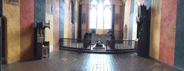 Creepy chapel