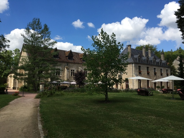 Abbey de la Bussiére now a stunning hotel