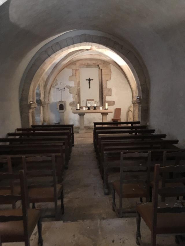 Abbey crypt