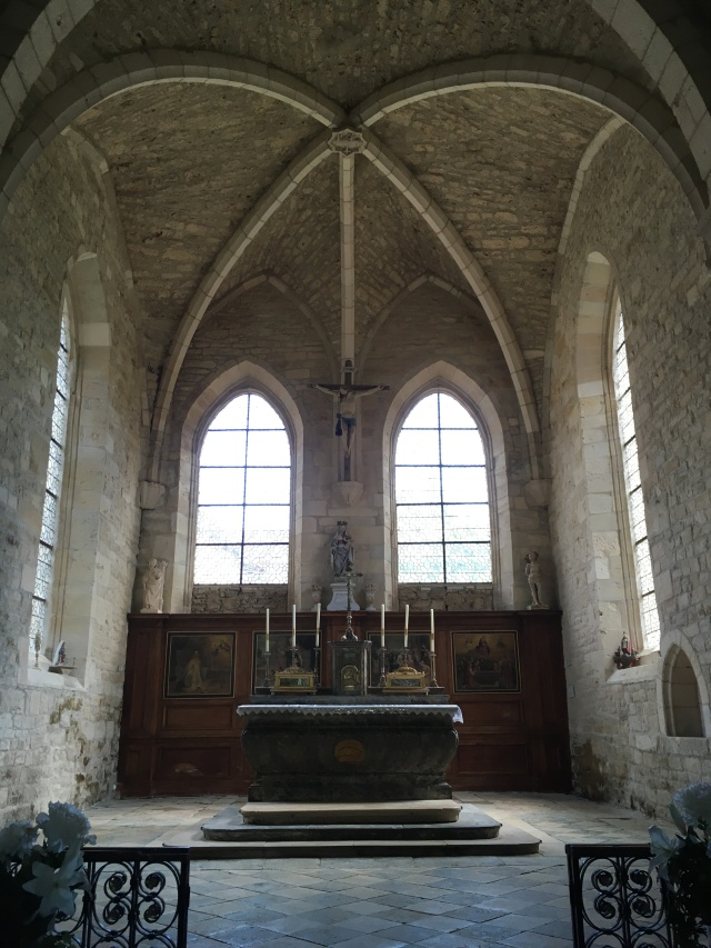 Abbey church interior