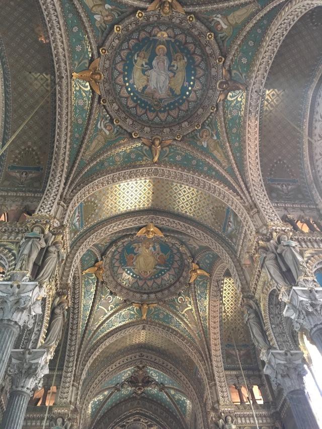Interior mosaics are stunning.