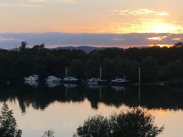 Belleville sunset.