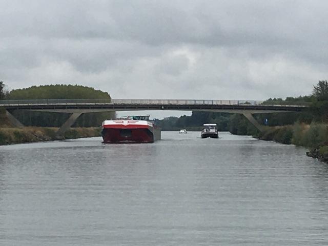 Commercial barge versus hotel barge versus cruiser.